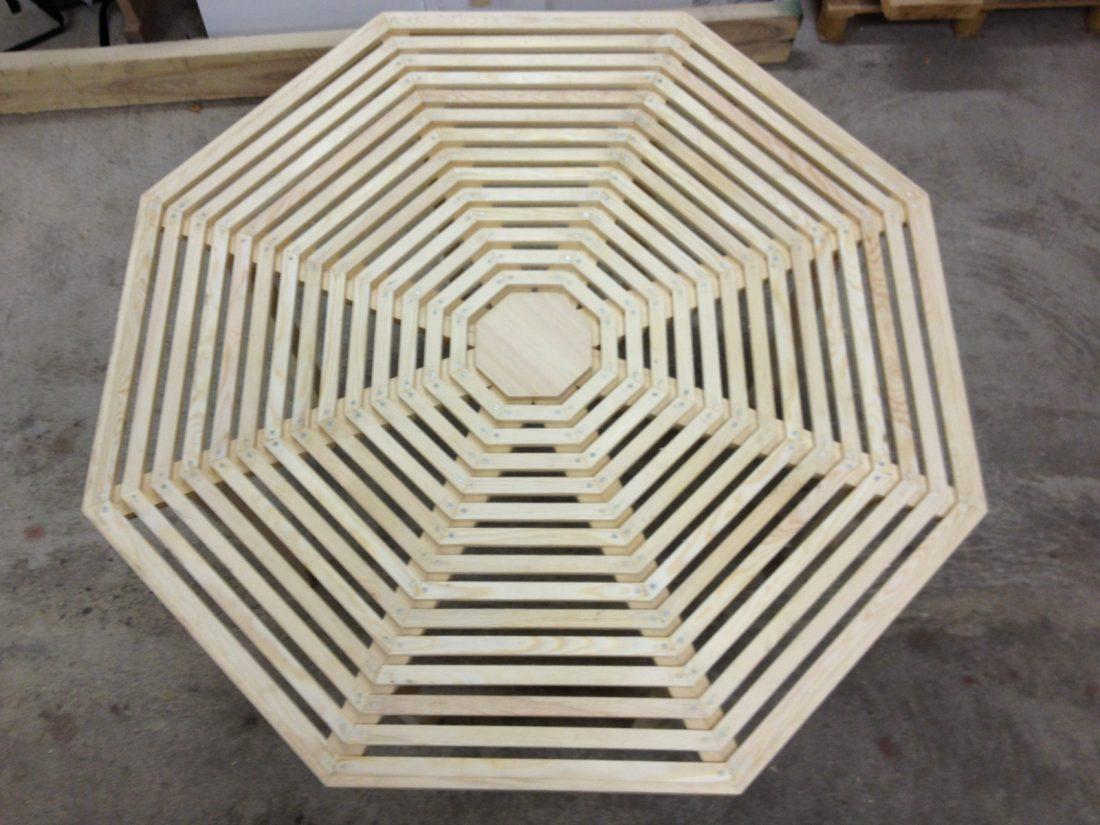 Spindelbord – utomhusbord